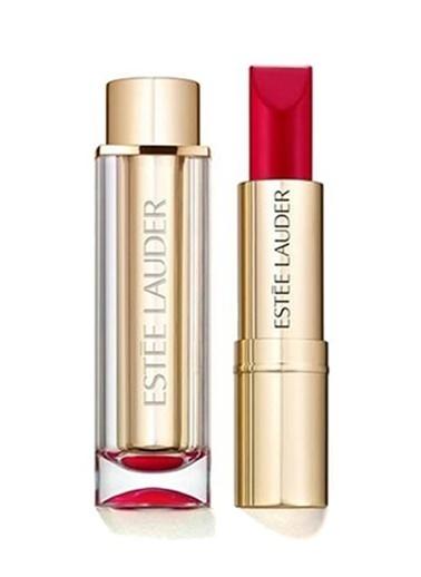 Estée Lauder Pure Color Love Lipstick Shock and Awe Kırmızı